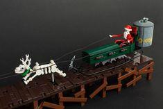 Nightmare Before Christmas Sleigh Lego Christmas, Dark Christmas, Jack Skellington, Zombie Style, Lego Worlds, Cool Lego, Toys Photography, Lego Creations, Snowball