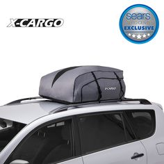 Coocheer 15 Cubic Feet Waterproof Car Top Carrier Roof Cargo Bag