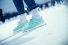 Women Rule!  #footshop #naked #adidas