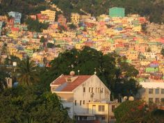 The view from Haiti's Best Western Premier is a palette