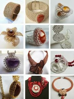 Make Your Own Wire Crochet Jewelry