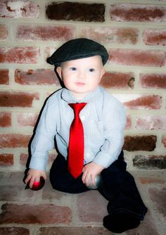 Baby boy outfit! Fedora!