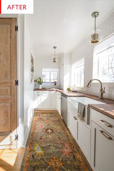 Before and After: This Kitchen Goes from Dark and Cramped to Light and Bright | Apartment Therapy