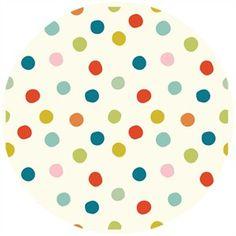 Jay-Cyn Designs for Birch Organic Fabrics, Mod Basics 3, Pop Dots Multi