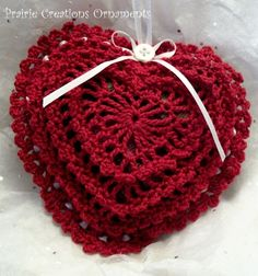 Valentine #crochet sachet   <3