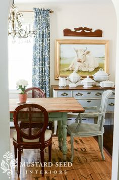 evolution of my house | part 2 | the dining room - Miss Mustard Seed