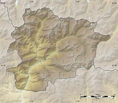 Map Of Andorra Capital Andorra La Vella Languages Catalán - Where is andorra