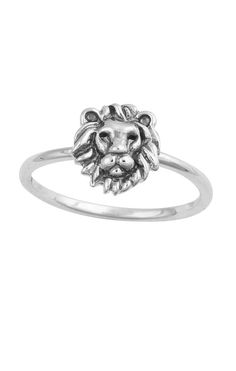 Midsummer Star - Lion Head Ring