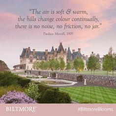 Edith Vanderbilt's youngest sister, Pauline Merrill, wrote to a friend describing daily life at Biltmore during her March 1905 stay.