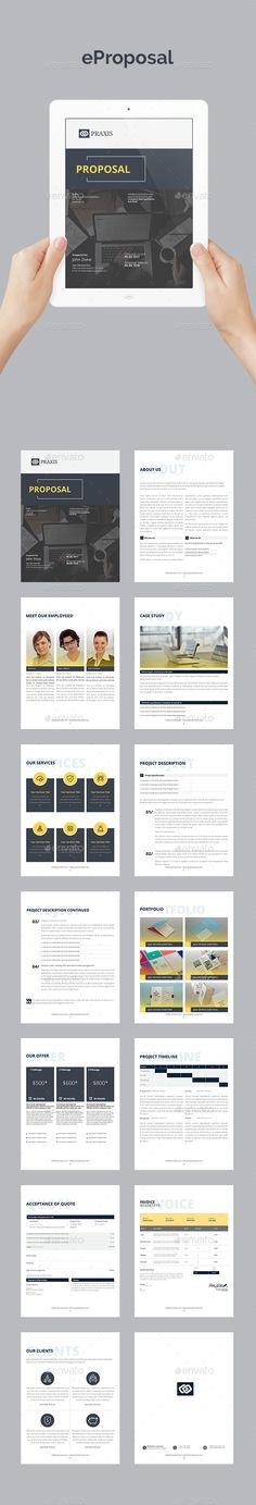 Simple Proposal Proposal templates, Proposals and Template - real estate proposal template