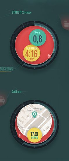 Raise – Android Wear App Concept on Behance
