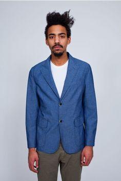 Barena cotton chambray jacket