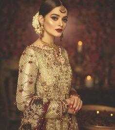 Will customise according to customer demand . Pakistani Wedding Outfits, Pakistani Bridal Dresses, Bridal Outfits, Bridal Looks, Bridal Style, Bridal Makup, Desi Wedding, Gorgeous Women, Gorgeous Hair