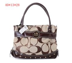 Womens Coach Alexandra Signature Tote Bag Coffee [Coach-0665] - $55.43 : Coach Outlet Canada Online