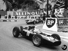 1962 Formula 1 Monaco Grand Prix - Jim Clark & Graham Hill. #formula1 #f1 #f1history #f1pictures