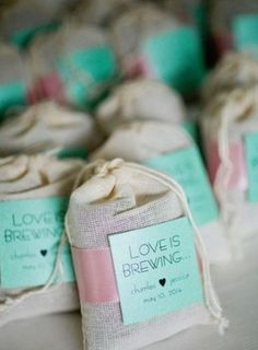 Home Remodel Additions Love Is Brewing Tea Bags - Pretty Bridal Shower Favors - Photos.Home Remodel Additions Love Is Brewing Tea Bags - Pretty Bridal Shower Favors - Photos Wedding Favors And Gifts, Tea Party Favors, Winter Wedding Favors, Tea Party Wedding, Wedding Keepsakes, Wedding Ideas, Tea Bag Favors, Coffee Favors, Trendy Wedding