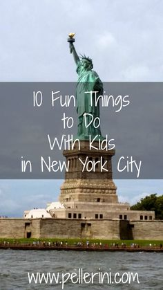 Travel Guide: 10 Fun Things to Do with Kids in New York City - Travel destinations and travel tips when you're vacationing with kids in the Big Apple!