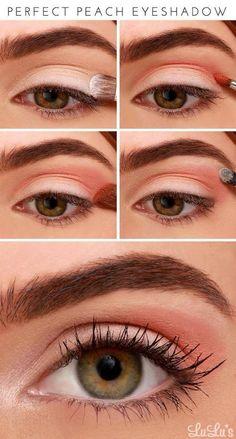 Perfect Peach Eyeshadow | Peach Makeup Tutorial You Should Recreate Now!