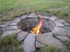 Inground Fire Pit Designs | in ground fire pit / For my backyard - Juxtapost