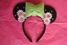 Minnie Mouse Ears by CrazyBeautifulCreati on Etsy, $18.00