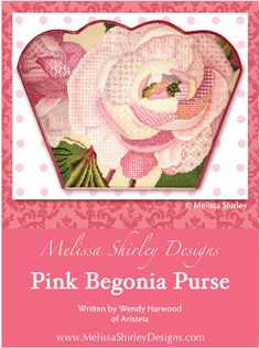 Melissa Shirley Designs | Hand Painted Needlepoint | Fruit & Floral - SG1393-B
