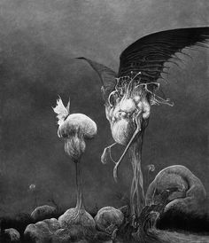 Arte Horror, Horror Art, Lovecraftian Horror, Dark Artwork, Francisco Goya, Georges Braque, Goth Art, Creepy Art, Creature Design