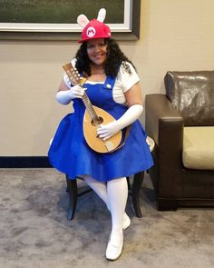Perfect DIY Plus Size Costumes For Her. Super Mario ...