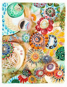 Melinda Hackett, Landscapes, Works on Paper, Charles Cowles, Female Artist, NY artist, Mid-career artist