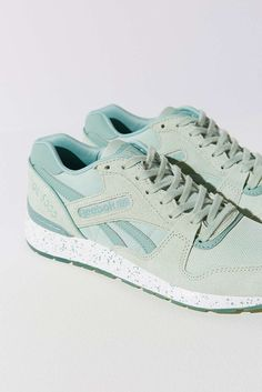 There is 1 tip to buy these shoes: pastel sneakers sneakers mint urban  outfitters reebok sports.