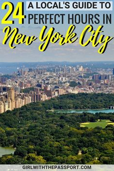 With so many New York City things to do and New York City food to eat, it can be a challenge to plan a short, New York City itinerary. But this local's guide to New York City travel will show you the best of NYC in just 24 hours. So get ready to explore Mid-town Manhattan and see such iconic places as Rockefeller Center, St. Patrick's Cathedral, Bryant Park, the MET, and more! #travel #itinerary #NYC #NewYorkCity #USA #UnitedStates #Local