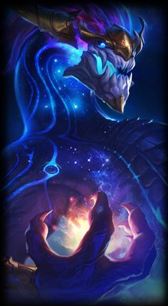 League of Legends- Aurelion Sol, the Star Forger art Lol League Of Legends, Champions League Of Legends, League Of Legends Characters, E Sports, Character Art, Character Design, Mythical Dragons, Best Rpg, Riot Games