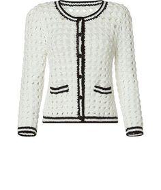Chanel Tarzı Örgü Ceket Yapılışı 12
