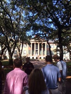 I want to go to college at the college of Charleston