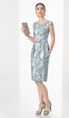 Vestidos de cóctel y boda de tarde: ¿qué me pongo? Simple Dresses, Beautiful Dresses, Short Dresses, Dresses For Work, Formal Dresses, Mom Dress, Dress Skirt, Designer Dresses, Evening Dresses