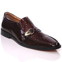 "Unze Herren- Leder 'Nitin ""Slipons Buckled formales Kleid-Schuhe - IMP-M5AL - http://on-line-kaufen.de/kobbler/unze-herren-spanish-leder-nitin-slipons-buckled"