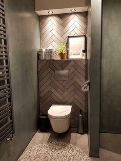 Bathroom Design Luxury, Modern Bathroom Decor, Bathroom Design Small, Small Downstairs Toilet, Small Toilet Room, Bathroom Toilets, Bathroom Sets, Small Toilet Design, Modern Toilet Design
