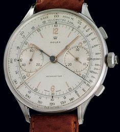 $1176000 for 1942 Rolex Ref. 4113 Split Seconds Chronograph – The Rarest, Most Valuable Reference of Rolex on the World