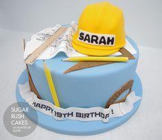 architect cake | Sugar Rush Cakes Montreal
