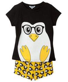 Penguin Shortie Pyjama Set  £9.99