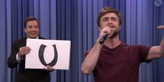 Bow down to the great and powerful Daniel Radcliffe!!! All Hail Harry Potter!!! He has now proven he has some truly magical rapping skills. This is too freaking awesome!!!!