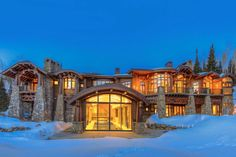 $15.89 Million Newly Built Mountaintop Contemporary Mansion In Park City, UT | Homes of the Rich – The Web's #1 Luxury Real Estate Blog