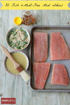 30 Fish & Meat-Free Meal Ideas from MomAdvice.com.