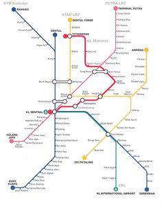 kiat.net: Kuala Lumpur - Mass Transit (STAR/PUTRA/Monorail)