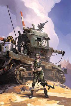Tank Girl by Ian McQue *