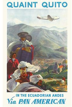 Quito (Ecuador) - Pan Am