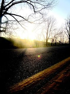 Country Road, Take Me Home - FOLK magazine (Not sure this is in Texas but I first got acquainted with such visions when I was young accompanying my Dad, parents, or grandparents, etc. Baptized by the bumpy roads and sunlight...
