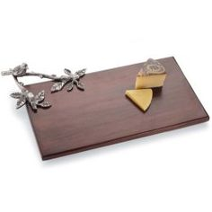 Mud Pie Bird Wood Board Rectangle