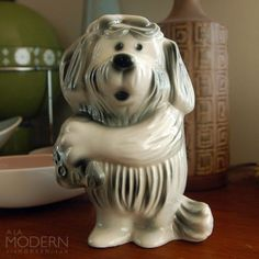 banking advertising Florence Ceramics Ford Dog Bank Advertising Vintage by alamodern I still have one of these that I got from Fiesta Ford of Indio Funny Looking Dogs, Banks Advertising, Classic Toys, The Prestige, Pin Collection, Florence, Lion Sculpture, Ford, Piggy Banks
