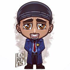 Chibi Joe West (De TV universe) by Lord Mesa | @lord_mesa |