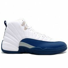 newest 4cbad 14f02 136001 141 Air Jordan XII 12 Retro Mens Basketball Shoes White French Blue  A12010 Cheap Jordan